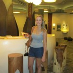 104 Sara Thuben from belgium _nice suprised to find an innovative marketing museum in ubud, not expected