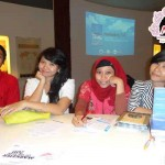233 Putu Surya Triana Dewi,Anna, Metri from Indonesia - Comment_ it's great, it's amazing place to learn